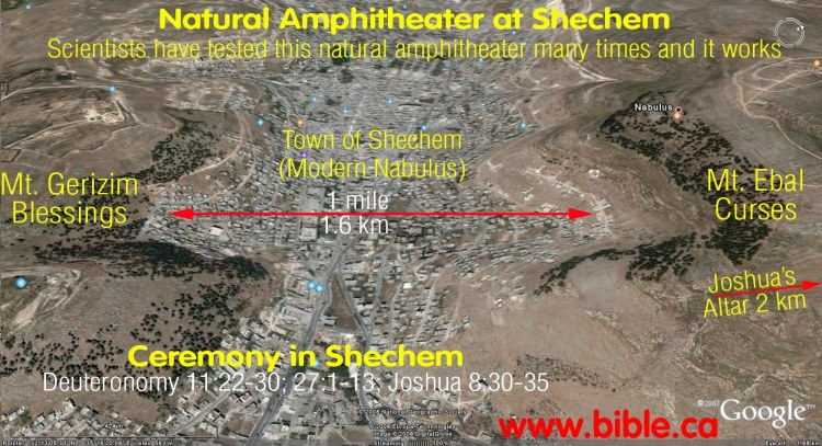 bible-archeology-altar-of-joshua-amphitheater-between-mt-gerizim-ebal